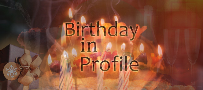 Birthday in Profile