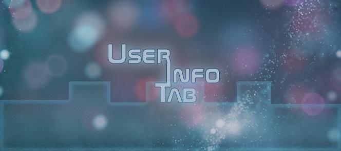 User Info Tab