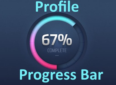 Profile Progress Bar
