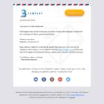 Шаблон писем Easy Email