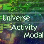 Universe Activity Modal