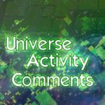 Universe Activity Comment