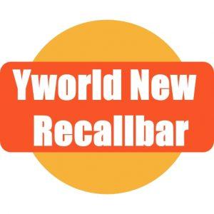 Yworld New Recallbar