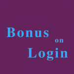 Bonus on Login
