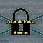 Friends Posts Access