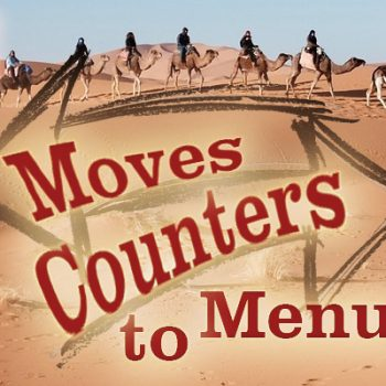Moves Counters to Menu