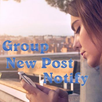 Group New Post Notify