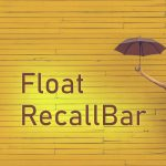 Float RecallBar